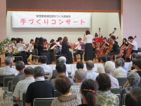 信州大学交響楽団の皆さんの素晴らしい演奏に酔いしれました。