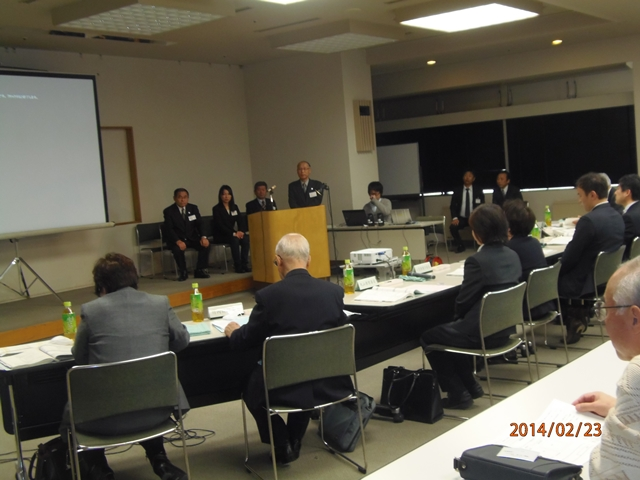 住自協の役員だけでなく、長野工業高校の生徒さんがプレゼンテーションした審査会より。住自協事務局から写真をいただきました。