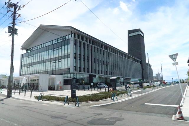 震災から6年目にして再建された新庁舎