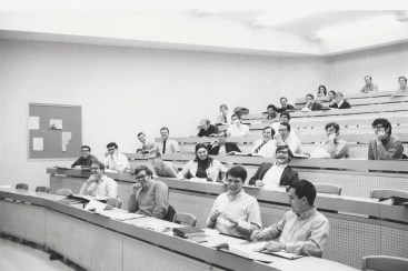 Students in a law class.