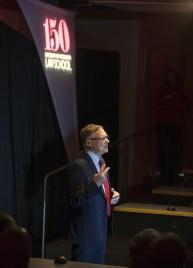 Rick Raemisch speaking at UWLawTalks