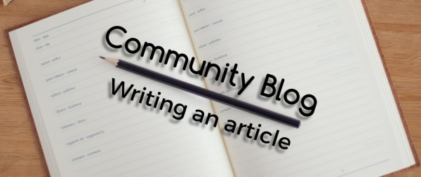 Writing Community Article Fedora