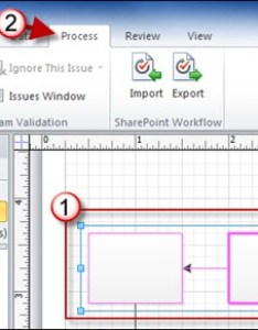Create subprocesses from  selection in visio also how to rh gilsmethod