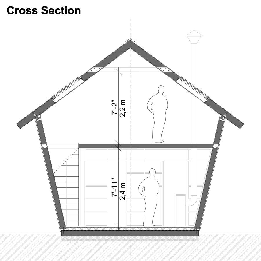 Corn Crib House Plans