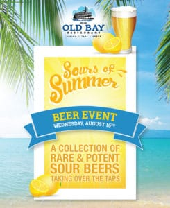 Sours of Summer at Old Bay  New Jersey Craft Beer