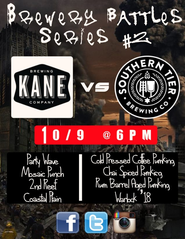 Brewery Battles Series 2 at Hops  New Jersey Craft Beer