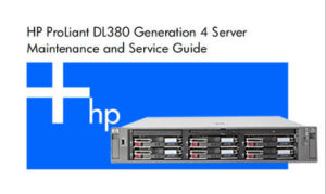 Manual Proliant DL380 G4