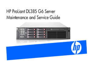 Manuales de Servidores Proliant DL385 G6