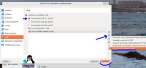 Conf usb en Virtualbox