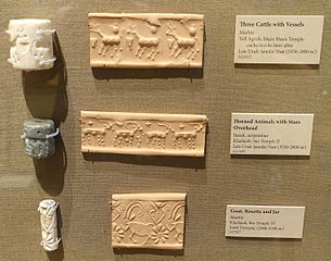 Cylinder_seals_-_Oriental_Institute_Museum,_University_of_Chicago_-_DSC07213