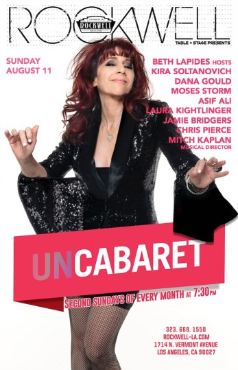 UnCabaret at Rockwell March 24