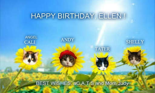 a happy birthday ellen pilch