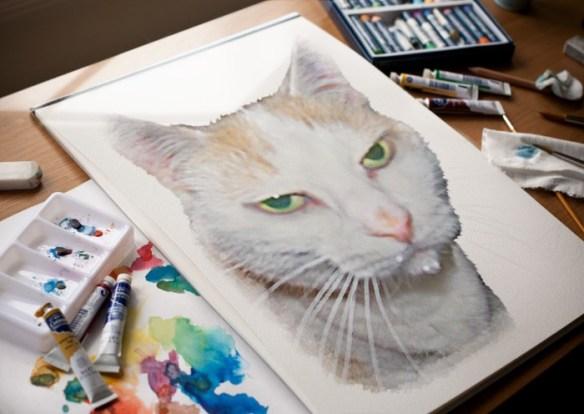 phoebewatercolor