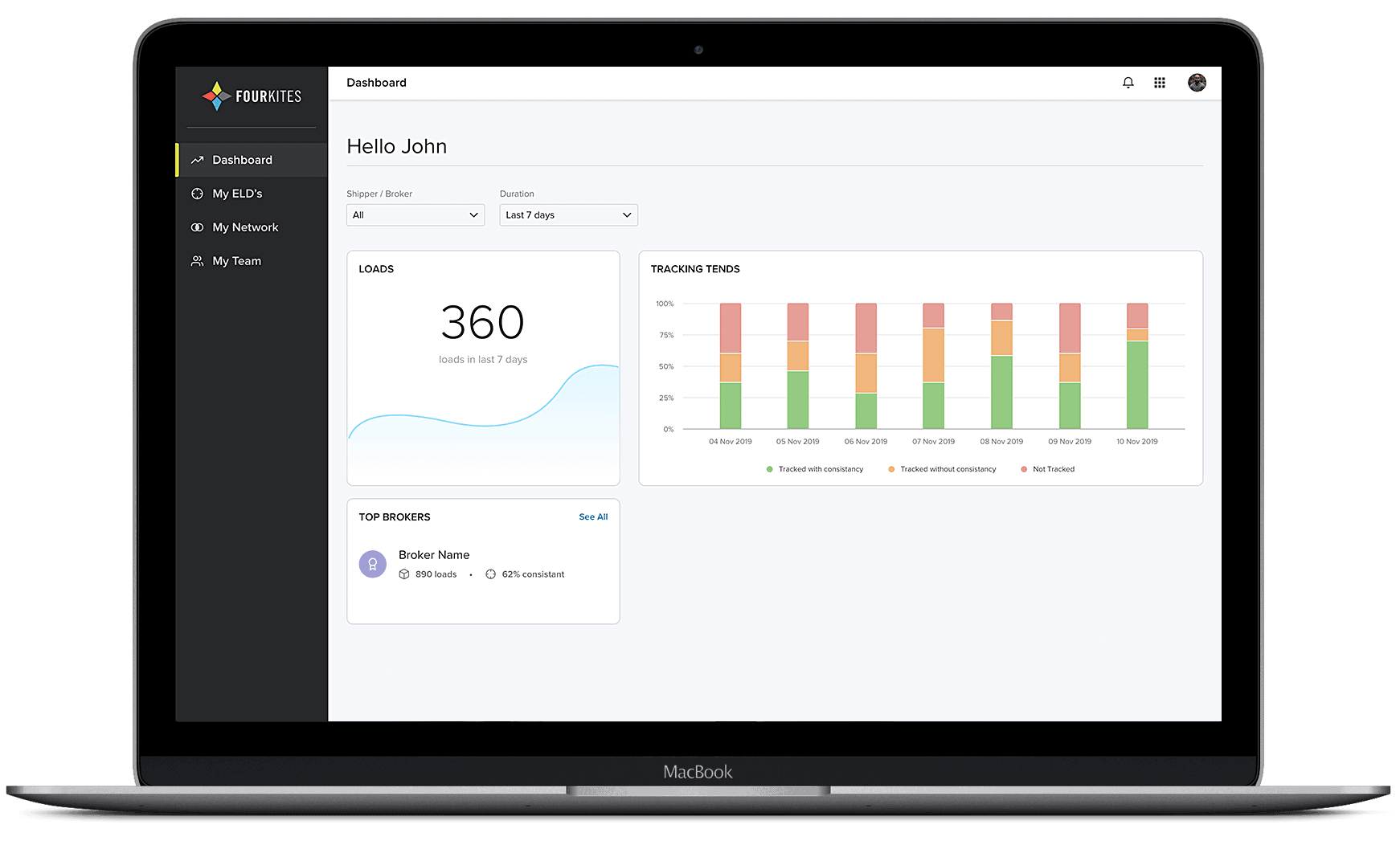 Real-Time Transportation Visibility for Carriers | FourKites