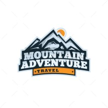 Mountain Adventure Logo 15