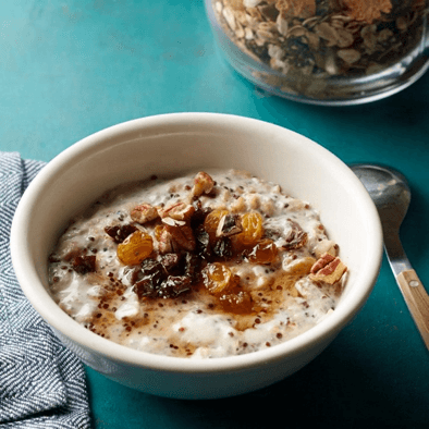 Oatmeal Recipes: Quinoa & Chia Oatmeal Mix