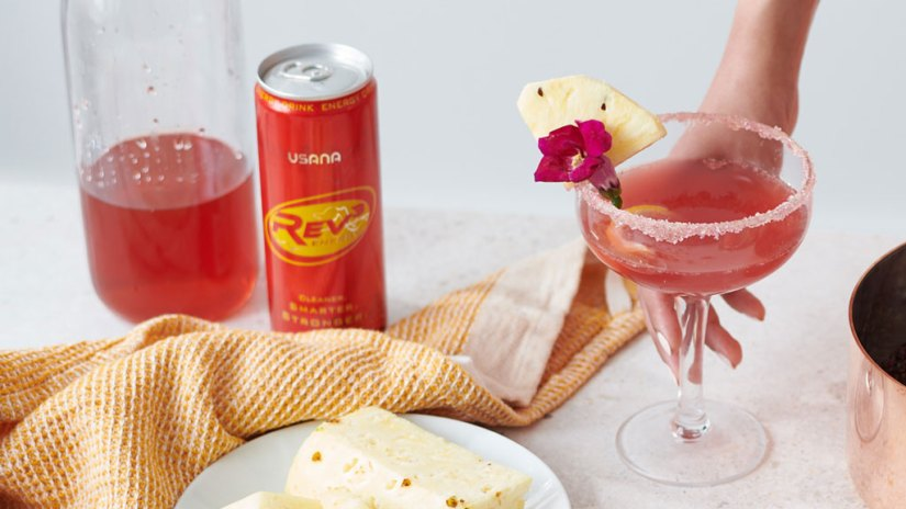 easy mocktail recipes Hibiscus Reviver