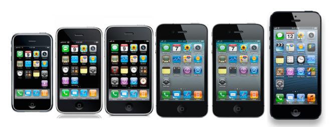 all-apple-iphones
