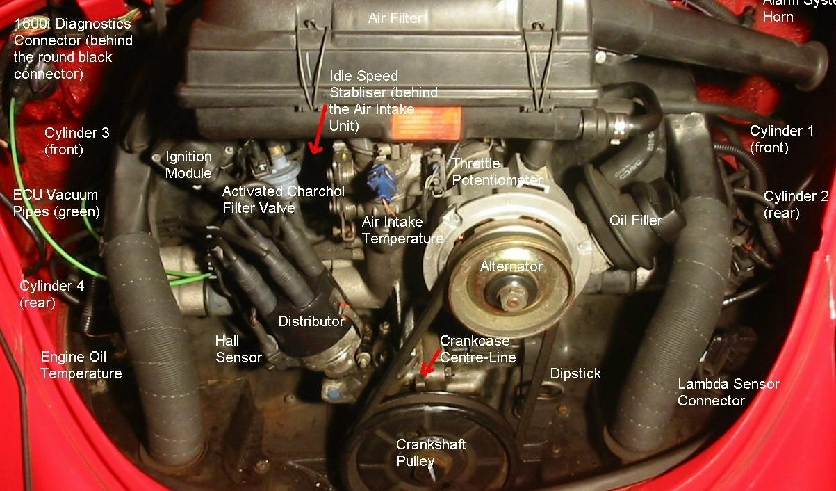 Fuel Injection System Diagram On Vw Super Beetle Fuel System Diagram