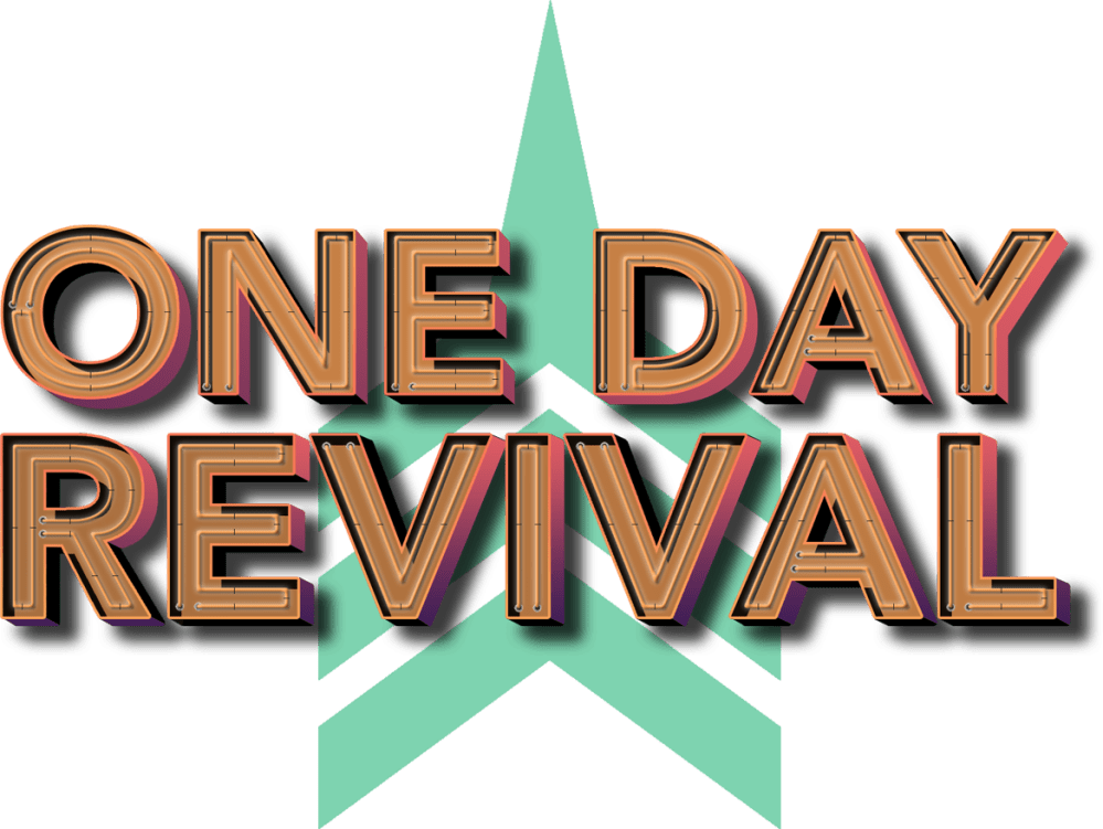 medium resolution of one day revival branding