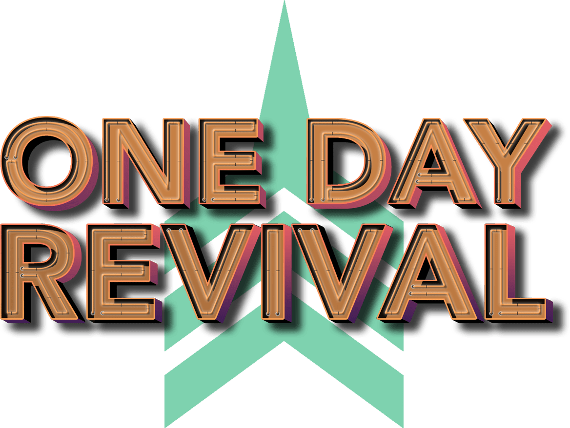 hight resolution of one day revival branding