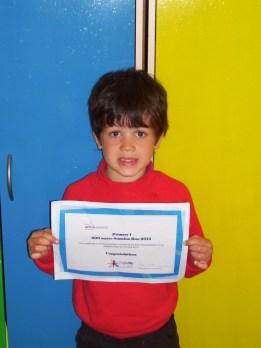 Jacob Achievement