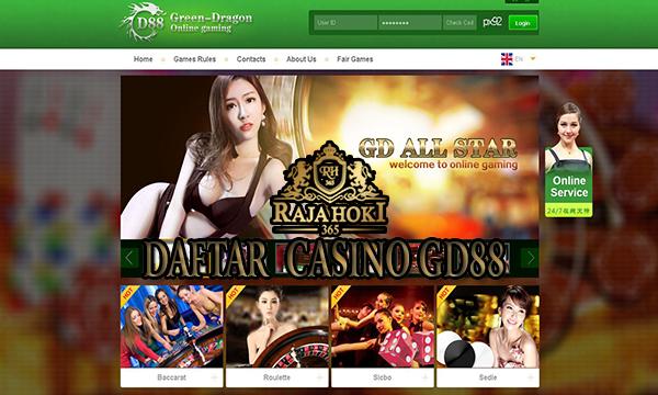 Cara Daftar Casino GD88