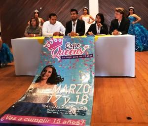 EN LA EXPO Queen las futuras quinceañeras podrán encontrar todo para su celebración.