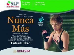 Pelicula el 29 de abril en Casa de Cultura de San Miguelito