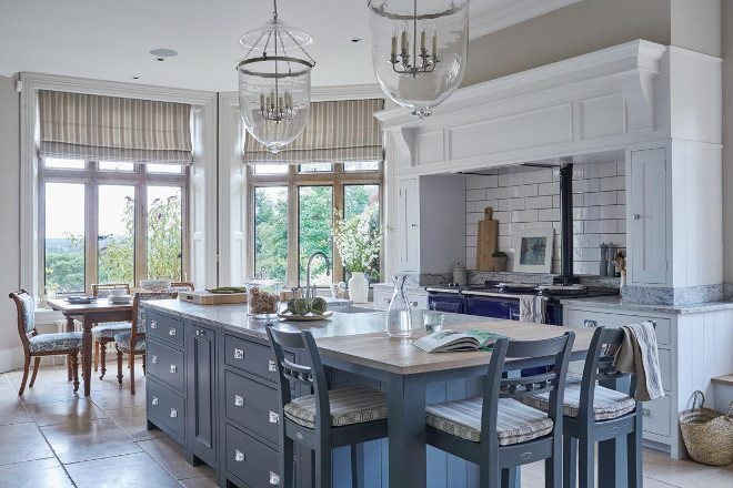 colored kitchen islands cabinet hinges 14 times they got right buy this cook that calm blue with silver handles one of my favorite