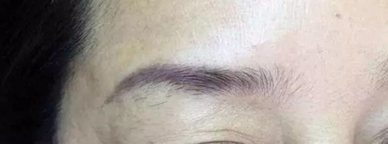 老式紋眉。改成(線+霧)眉詳細步驟