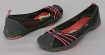 Jambu Sz 8 5 Barefoot Slip Charcoal Gray Shoes