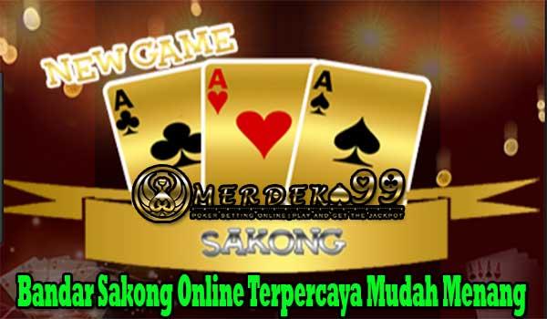 Bandar Sakong Online Terpercaya Mudah Menang