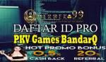 Daftar ID Pro PKV Games BandarQ