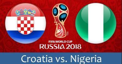 Prediksi Bola Croatia vs Nigeria Tanggal 17 Juni 2018