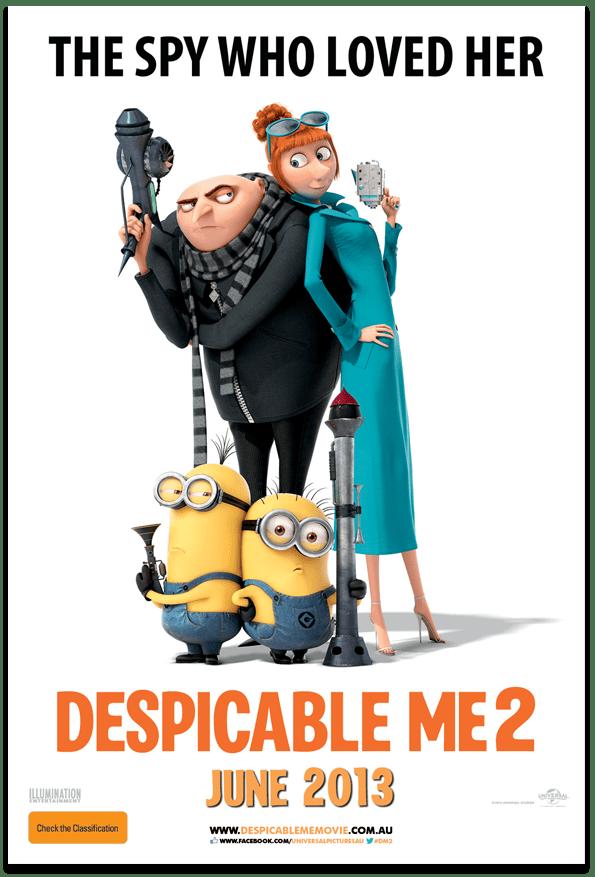 Sessão Cinema - Despicable Me 2 - Meu Malvado Favorito - Sue Brandao