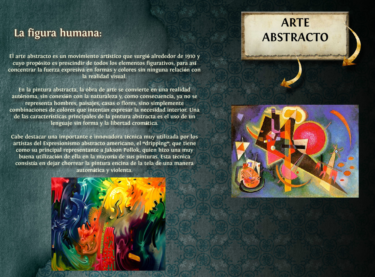 Arte Abstracto Book Reports Book Review Book Review En én Én Language Arts Language Arts Templates Glogster Edu Interactive Multimedia Posters