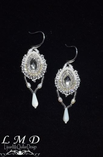 E-16001 Swarovski crystal earrings 1