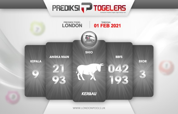 Perkiraan Togelers LONDON Senin 1 Februari 2021