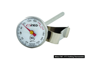 Winco froathing thermometer