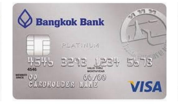 Bangkok Bank Visa Platinum Travel Credit Card บัตรเครดิตวีซ่าแพลทินัม ท่องเที่ยว ธนาคารกรุงเทพ 2