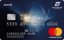 Blue Diamond MasterCard World