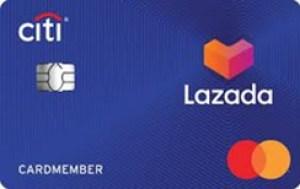บัตรเครดิตซิตี้ ลาซาด้า