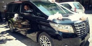 sewa mobil pengantin alphard jakarta