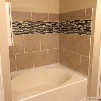 Adding a tile tub surround  16922 Vista Bluff San Antonio TX