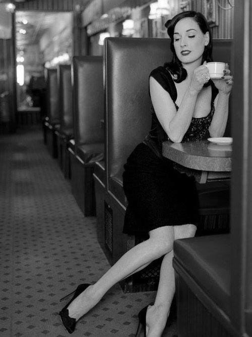 Dita Von Teese photographed by Adrian Green