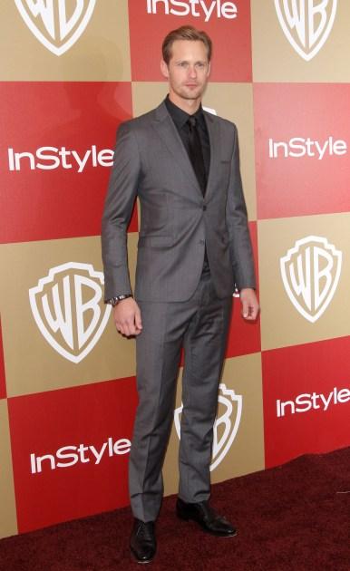 Alexander Skarsgård - 70th Annual Golden Globe Awards