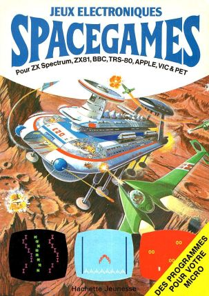 Spacegames - couverture