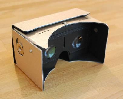 Google Cardboard après assemblage
