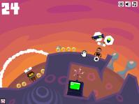 Sélection d'arme (Crazy Planets par Playfish)